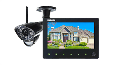 Lorex Wireless Home Monitoring System $99